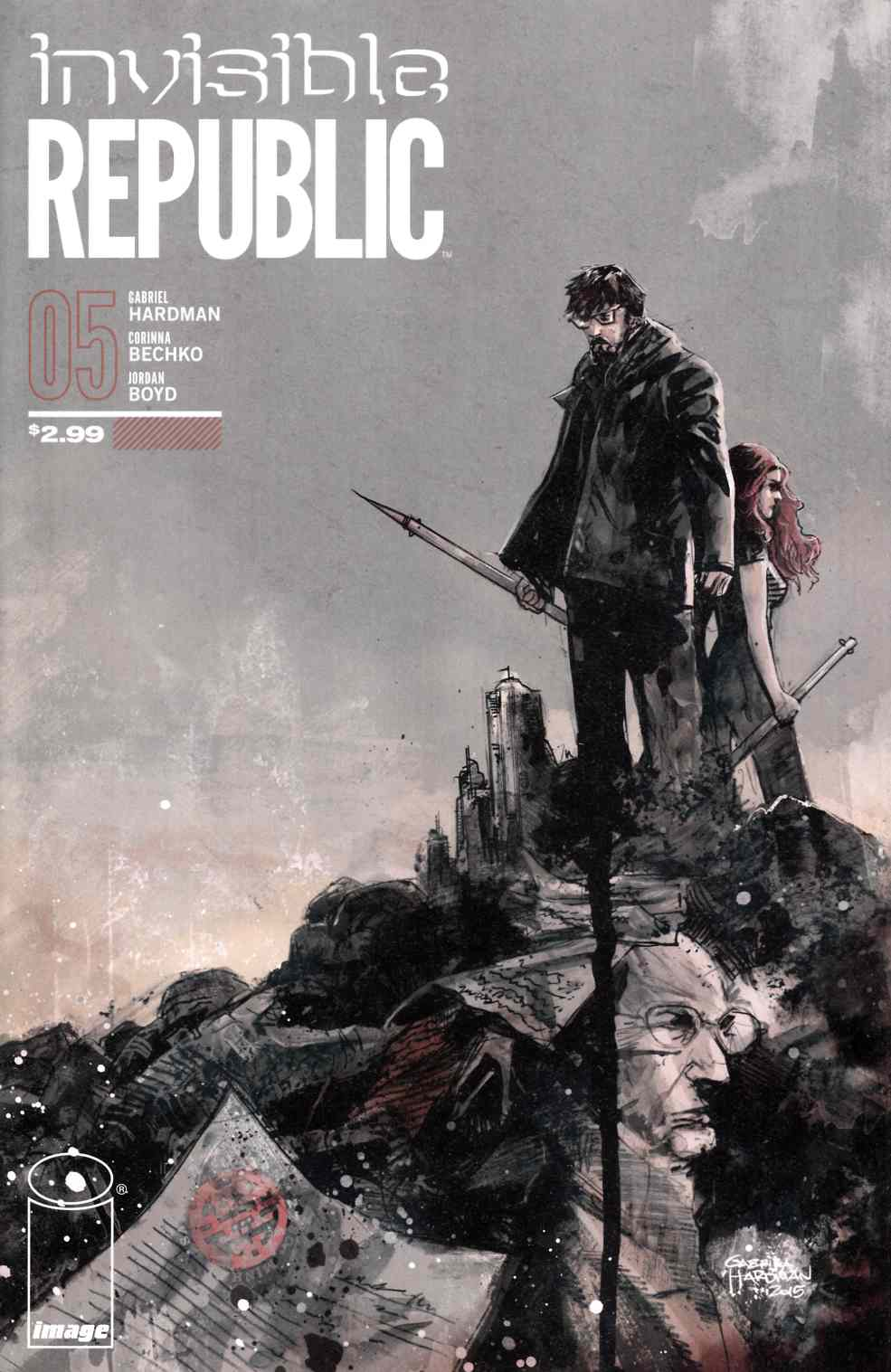 Invisible Republic #5 [Image Comic]