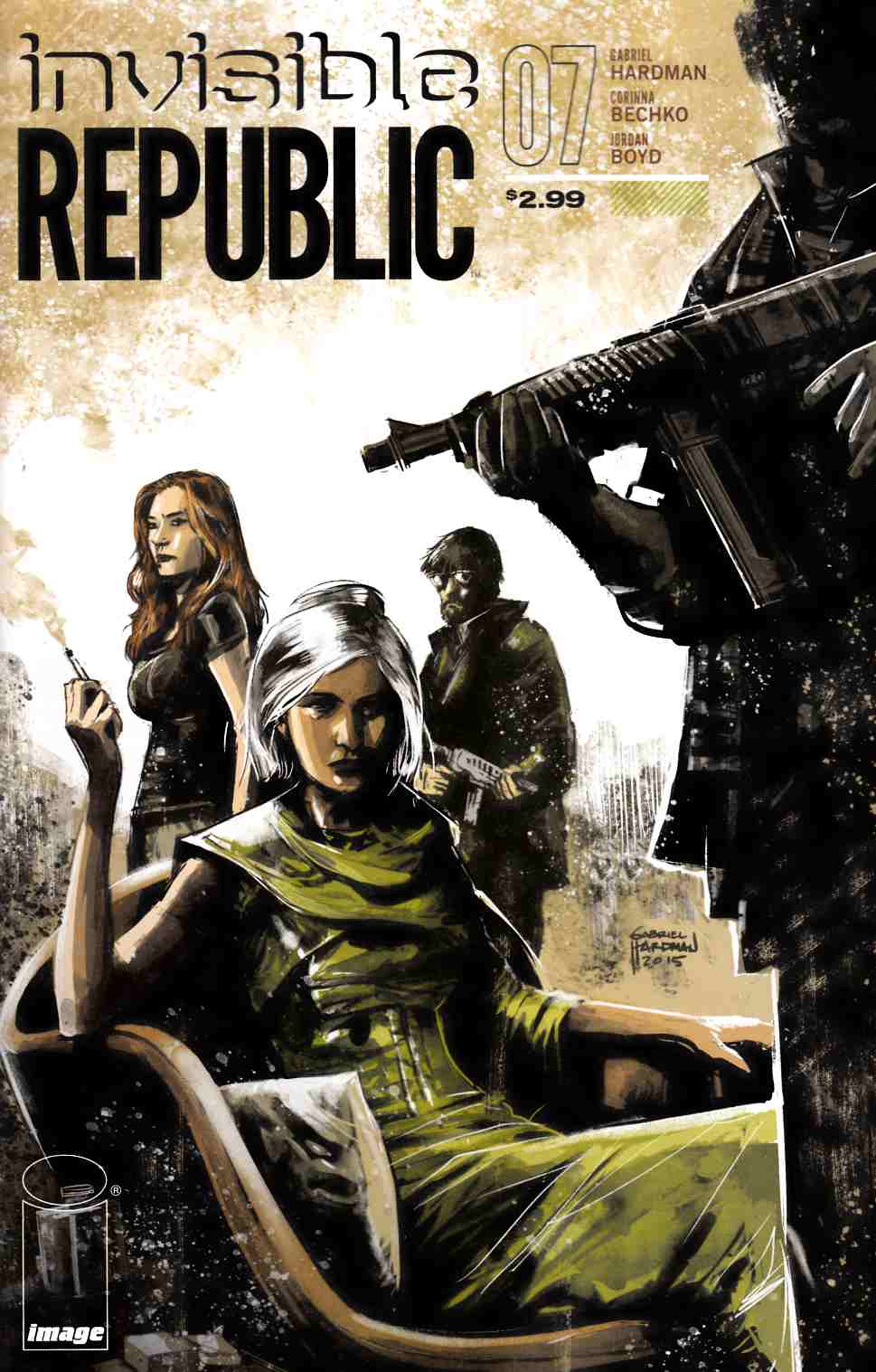 Invisible Republic #7 [Image Comic] LARGE