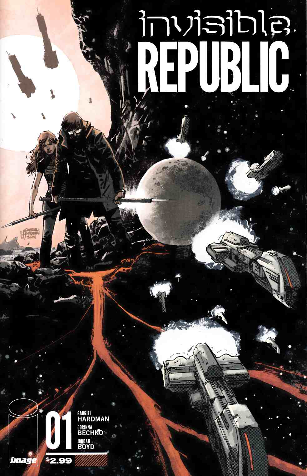 Invisible Republic #1 [Image Comic]