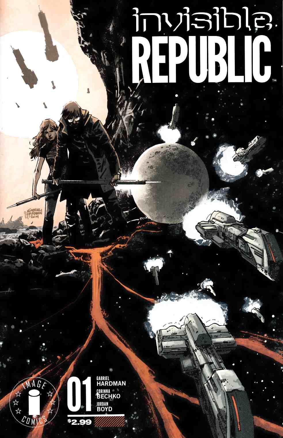 Invisible Republic #1 Cover D- Display Logo Edition [Image Comic] THUMBNAIL