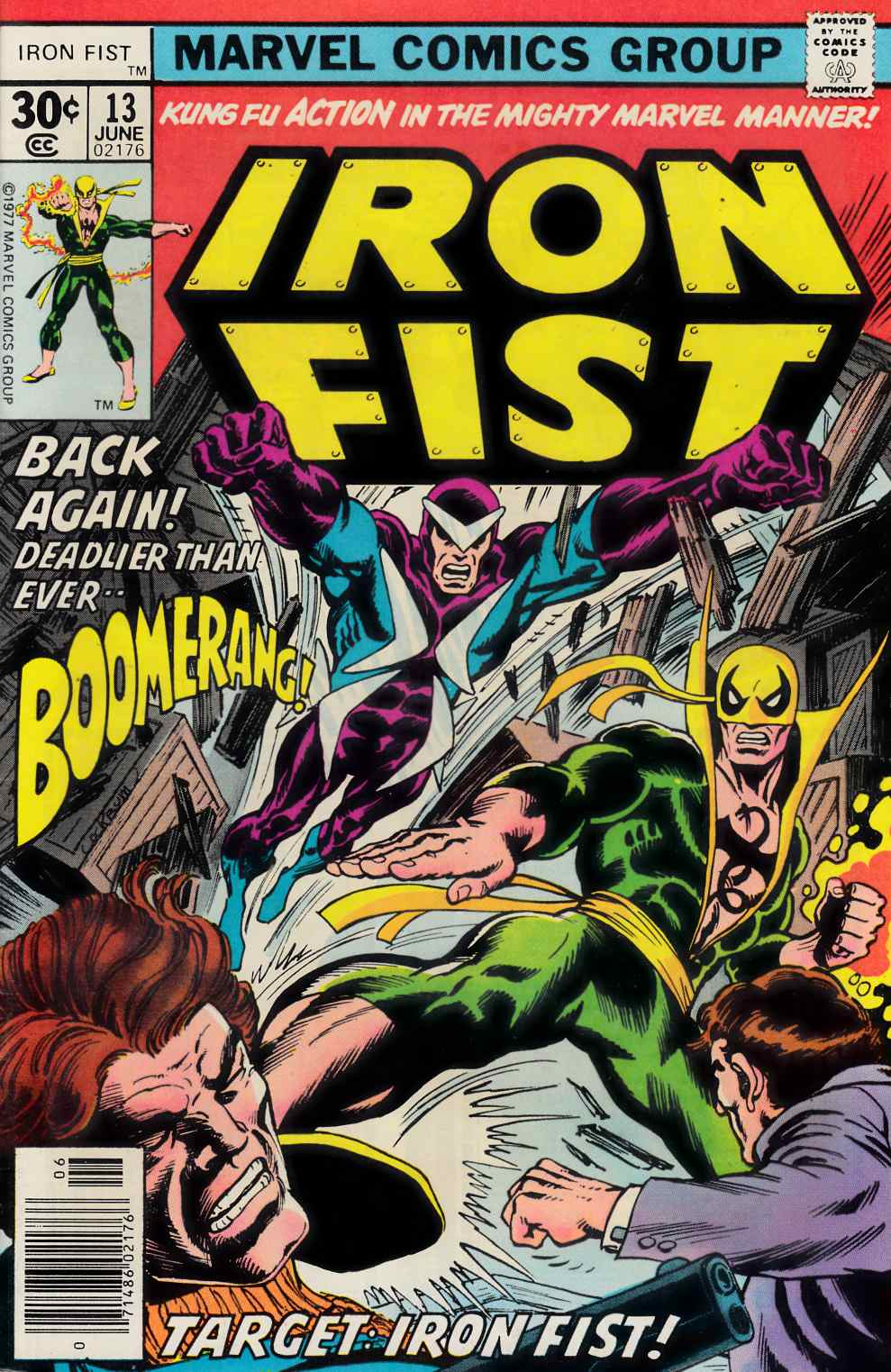 Iron Fist #13 Very Fine (8.0) [Marvel Comic] THUMBNAIL