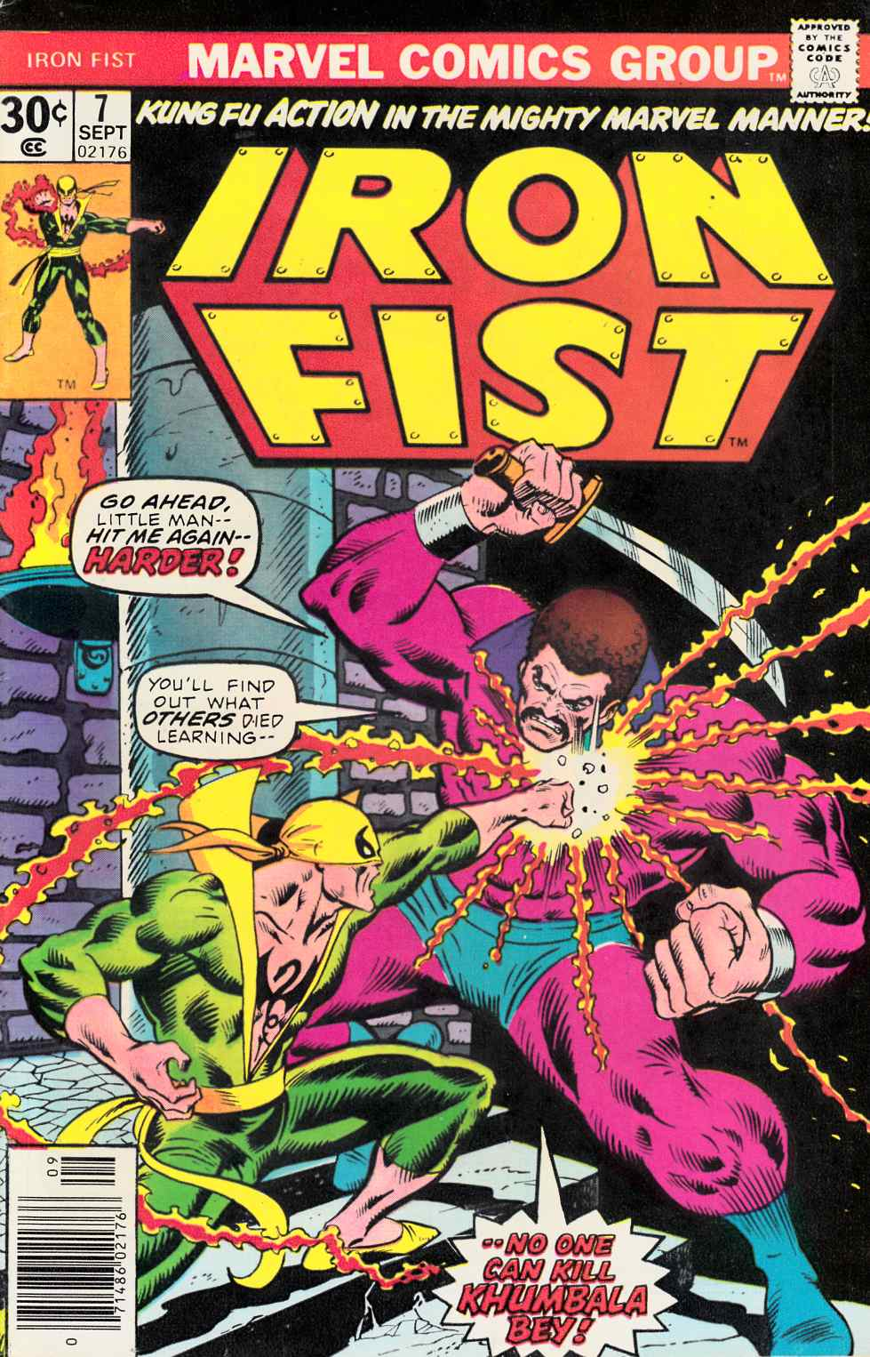Iron Fist #7 Fine/Very Fine (7.0) [Marvel Comic] THUMBNAIL