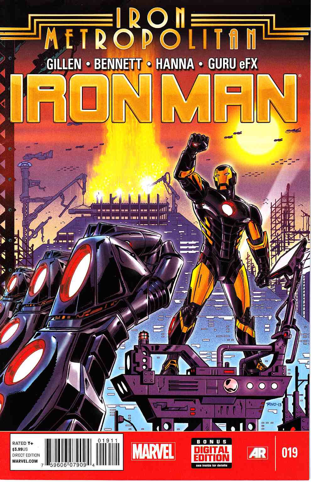 Iron Man #19 [Marvel Comic] LARGE