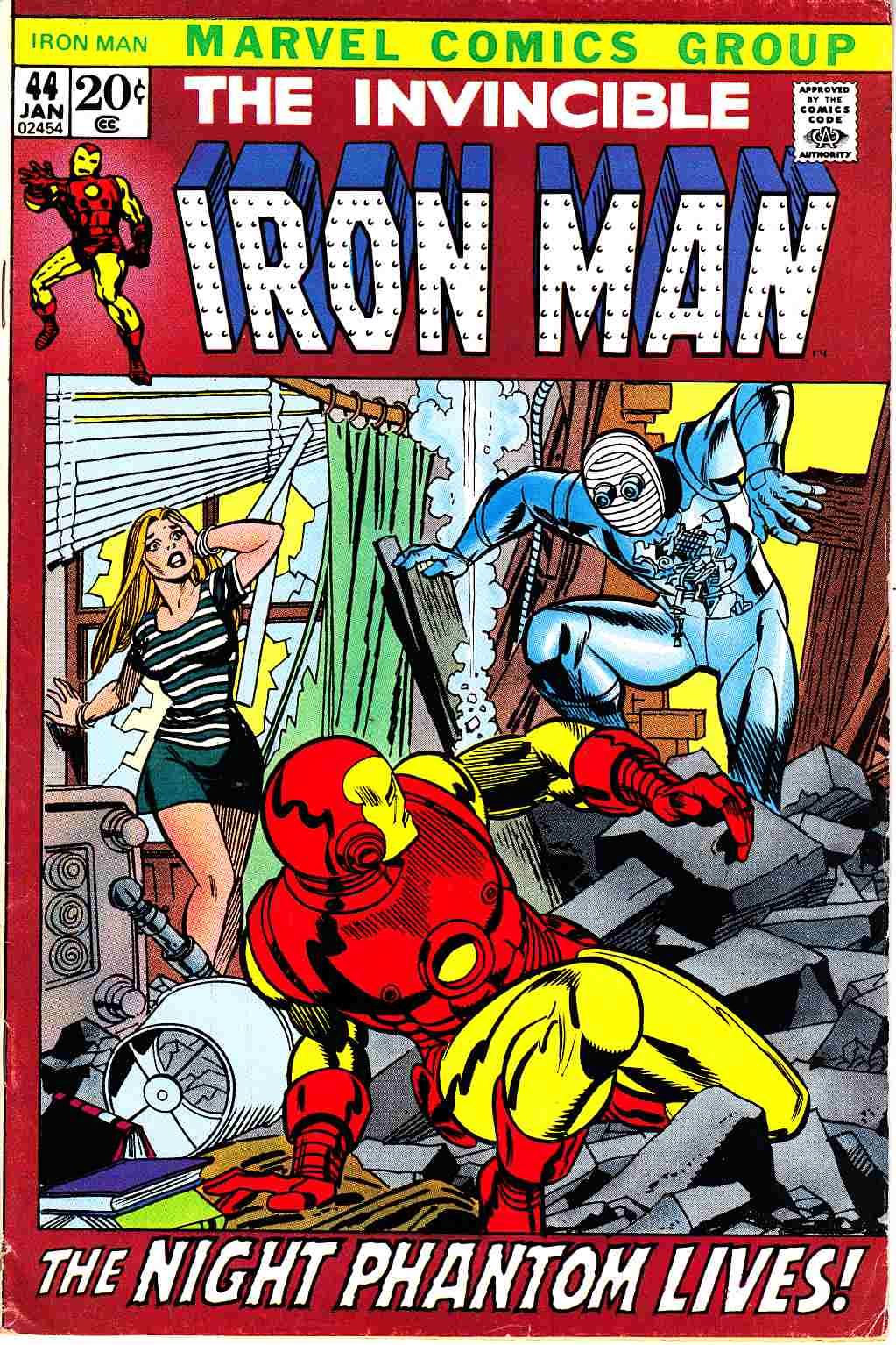 Iron Man #44 Very Good (4.0) [Marvel Comic] THUMBNAIL