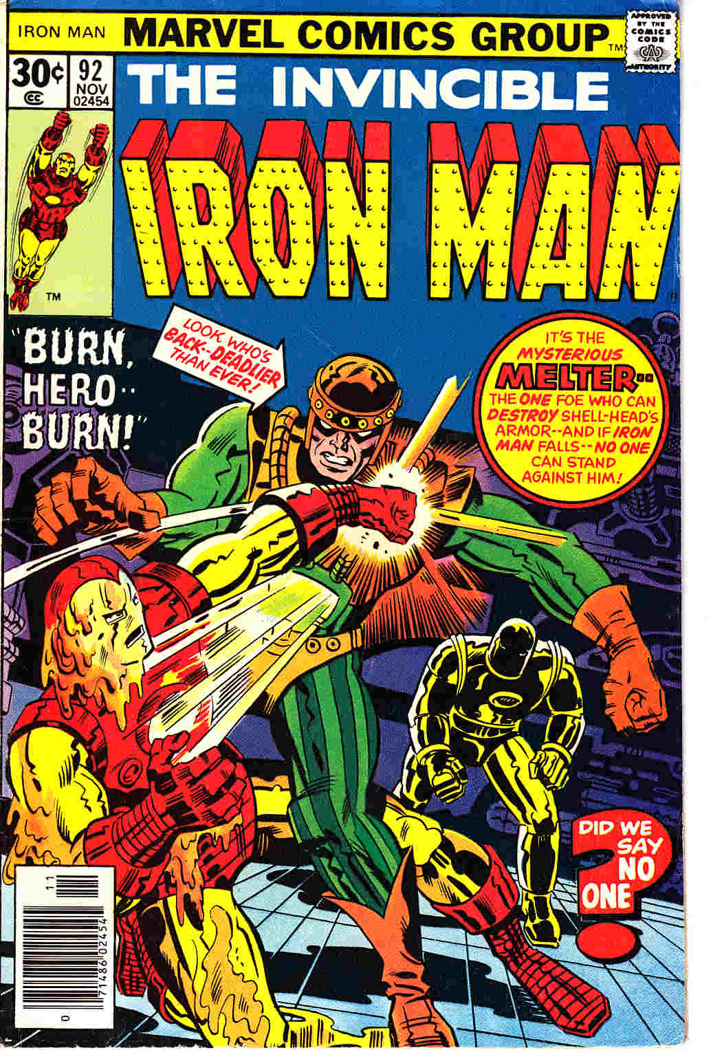 Iron Man #92 Very Good/Fine (5.0) [Marvel Comic] THUMBNAIL