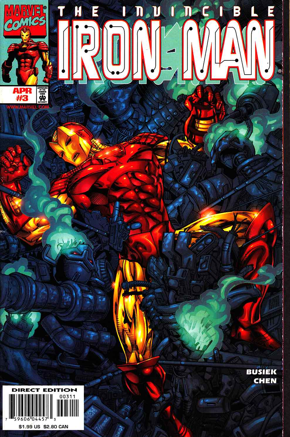 Iron Man #3 Near Mint (9.4) [Marvel Comic] THUMBNAIL