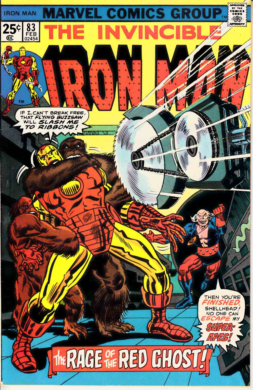 Iron Man #83 Very Fine Minus (7.5) [Marvel Comic] THUMBNAIL