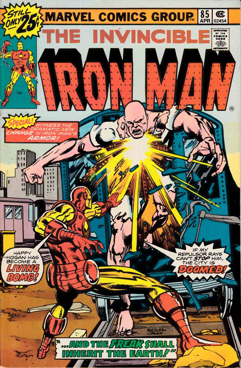 Iron Man #85 Fine Plus (6.5) [Marvel Comic] THUMBNAIL