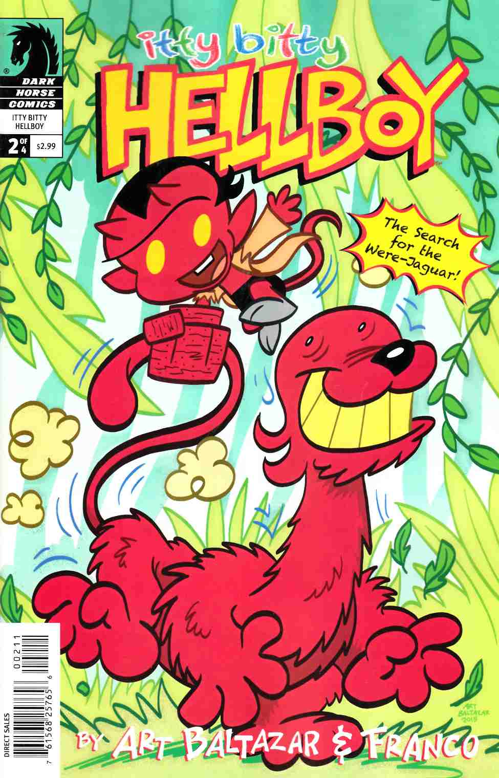 Itty Bitty Hellboy Search For the Were-Jaguar #2 [Dark Horse Comic]