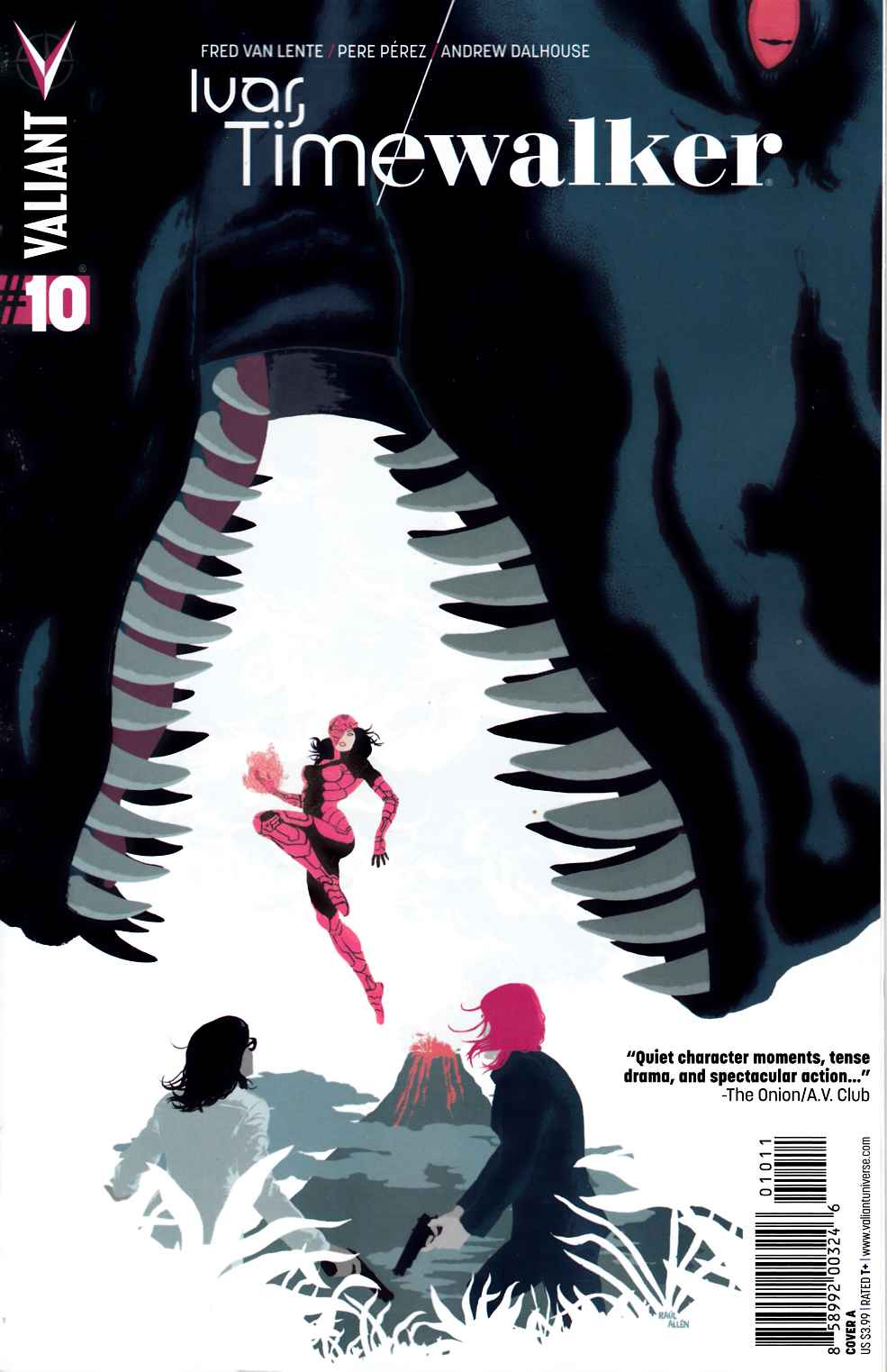 Ivar Timewalker #10 Cover A- Allen [Valiant Comic] THUMBNAIL