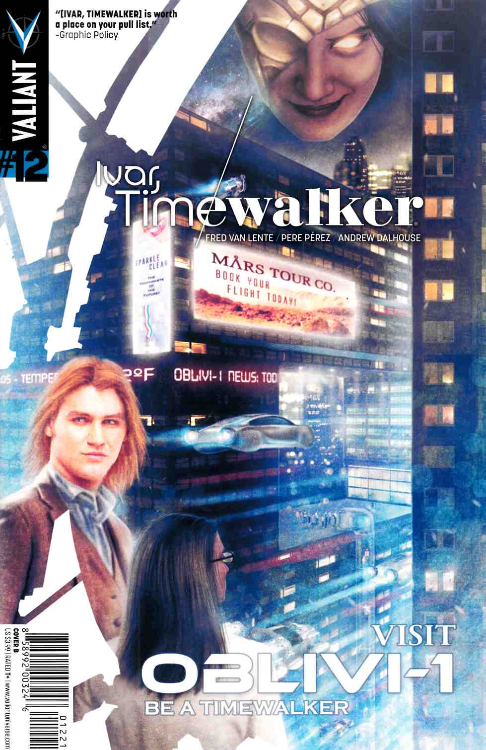 Ivar Timewalker #12 Cover B- Bensler [Valiant Comic]