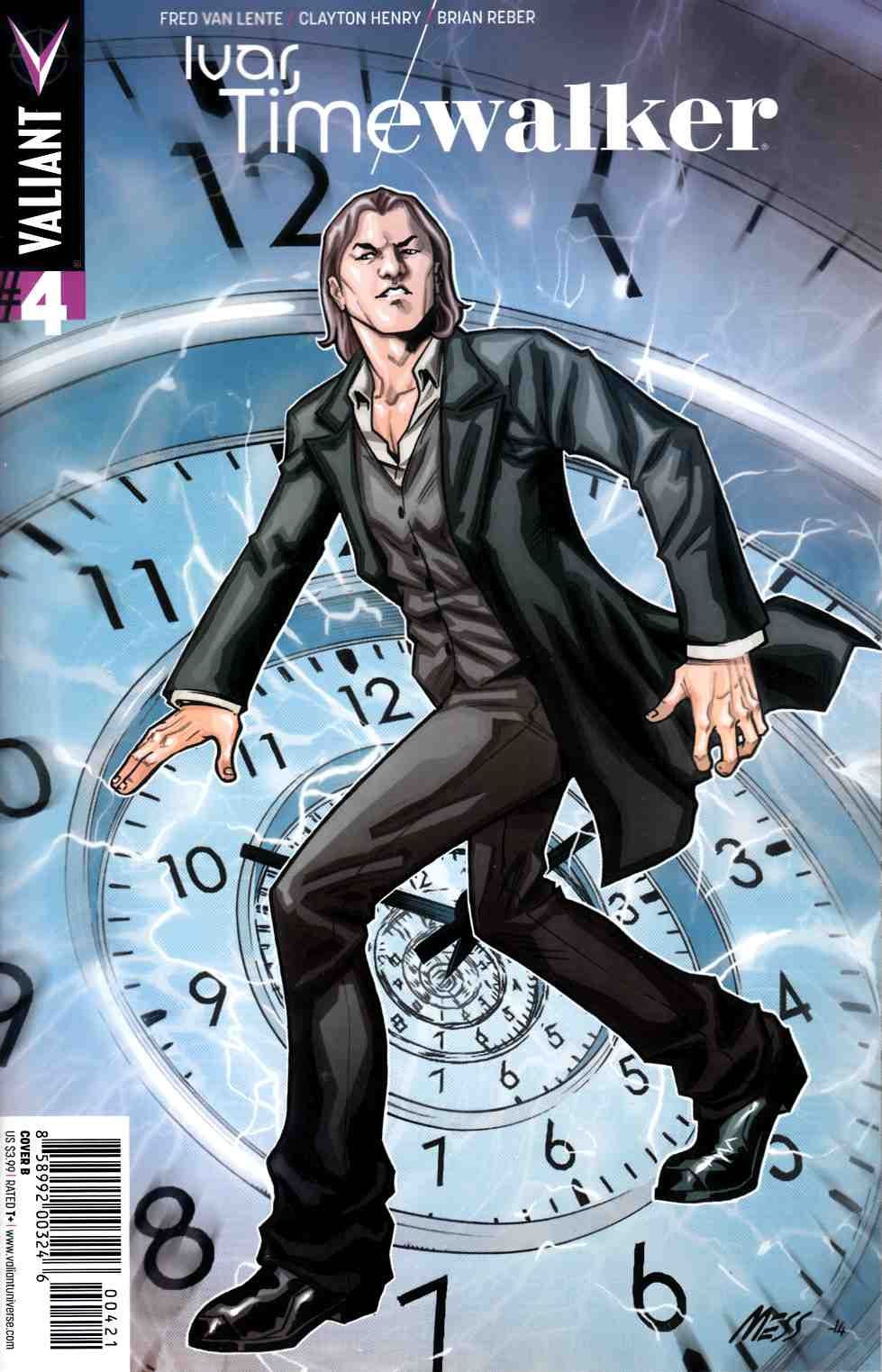 Ivar Timewalker #4 Cover B- Messina [Valiant Comic] THUMBNAIL