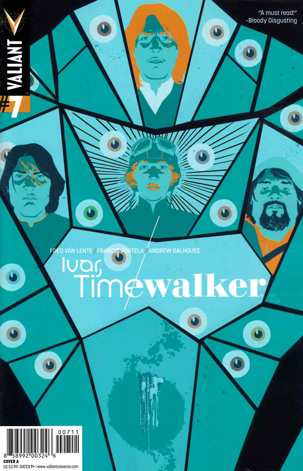 Ivar Timewalker #7 Cover A- Allen [Valiant Comic] THUMBNAIL