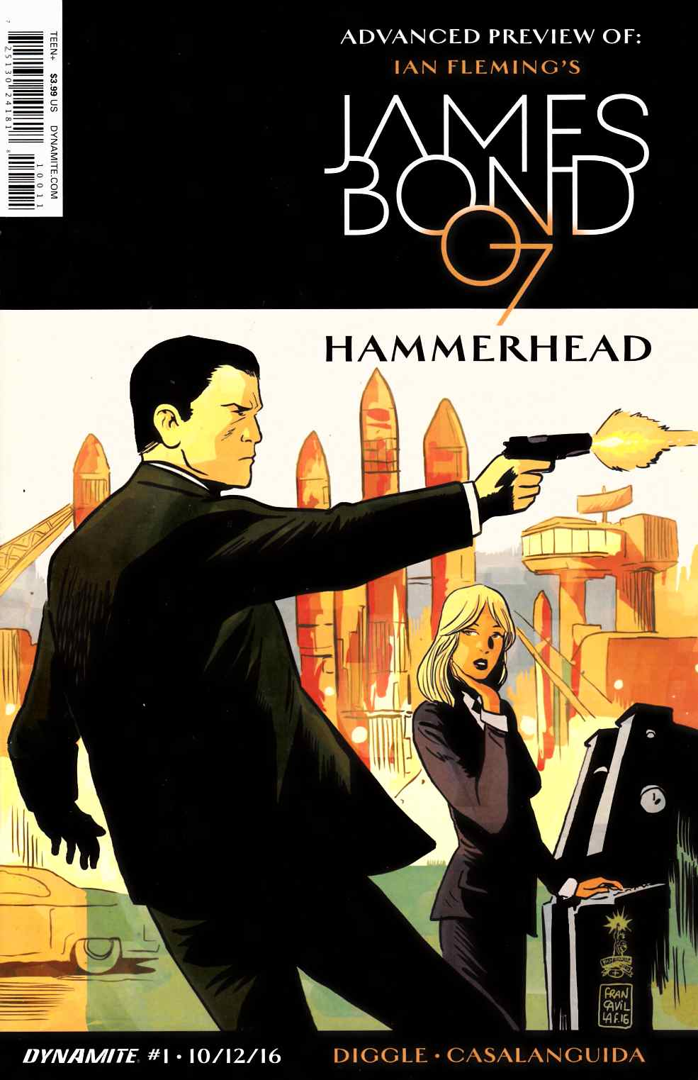 James Bond #10 [Dynamite Comic] LARGE
