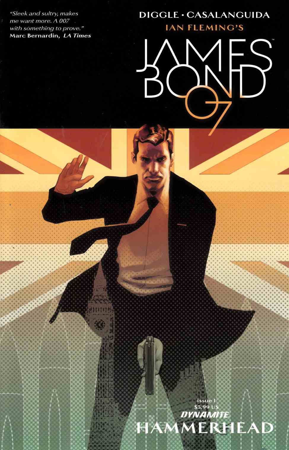 James Bond Hammerhead #1 Cover C [Dynamite Comic] LARGE