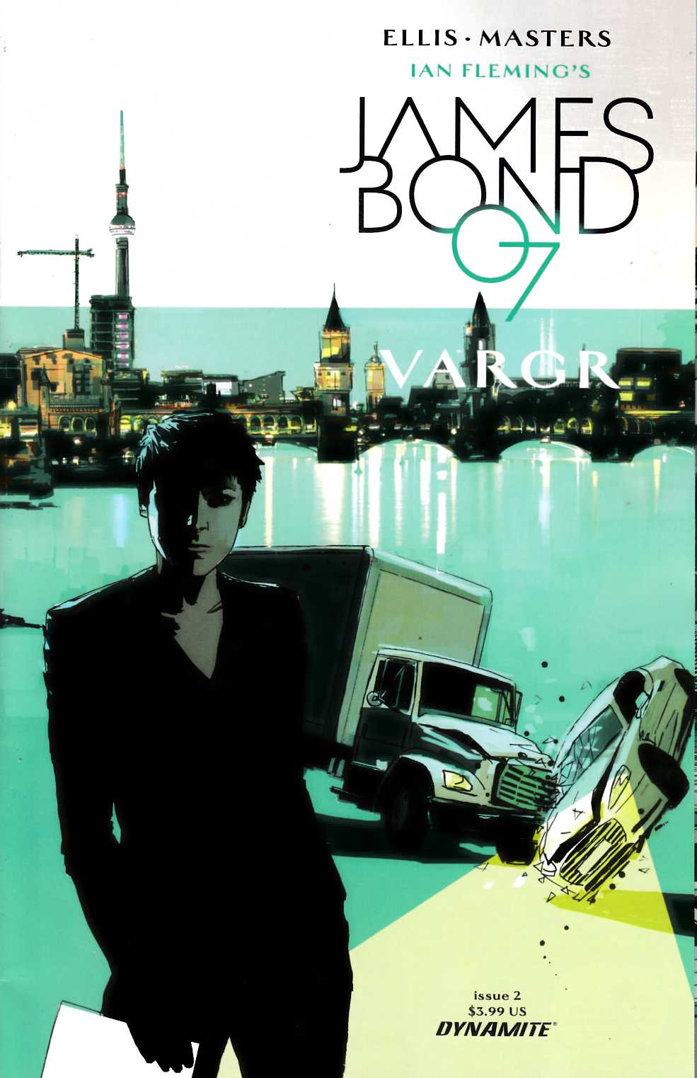 James Bond #2 Cover A- Reardon [Dynamite Comic]