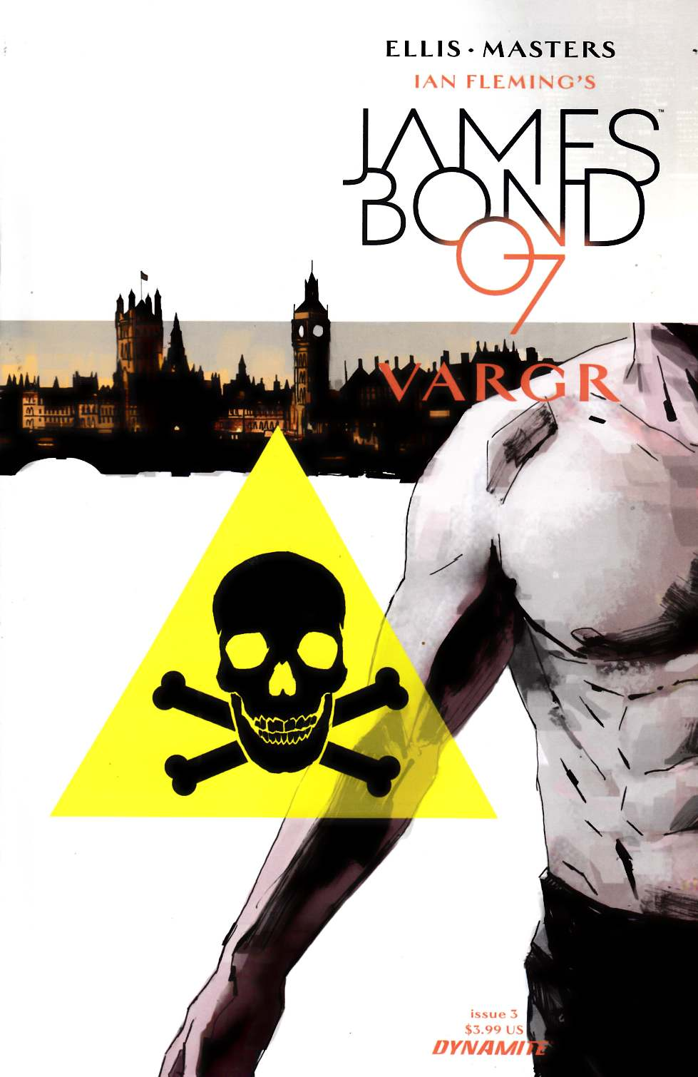 James Bond #3 Cover A- Reardon [Dynamite Comic]