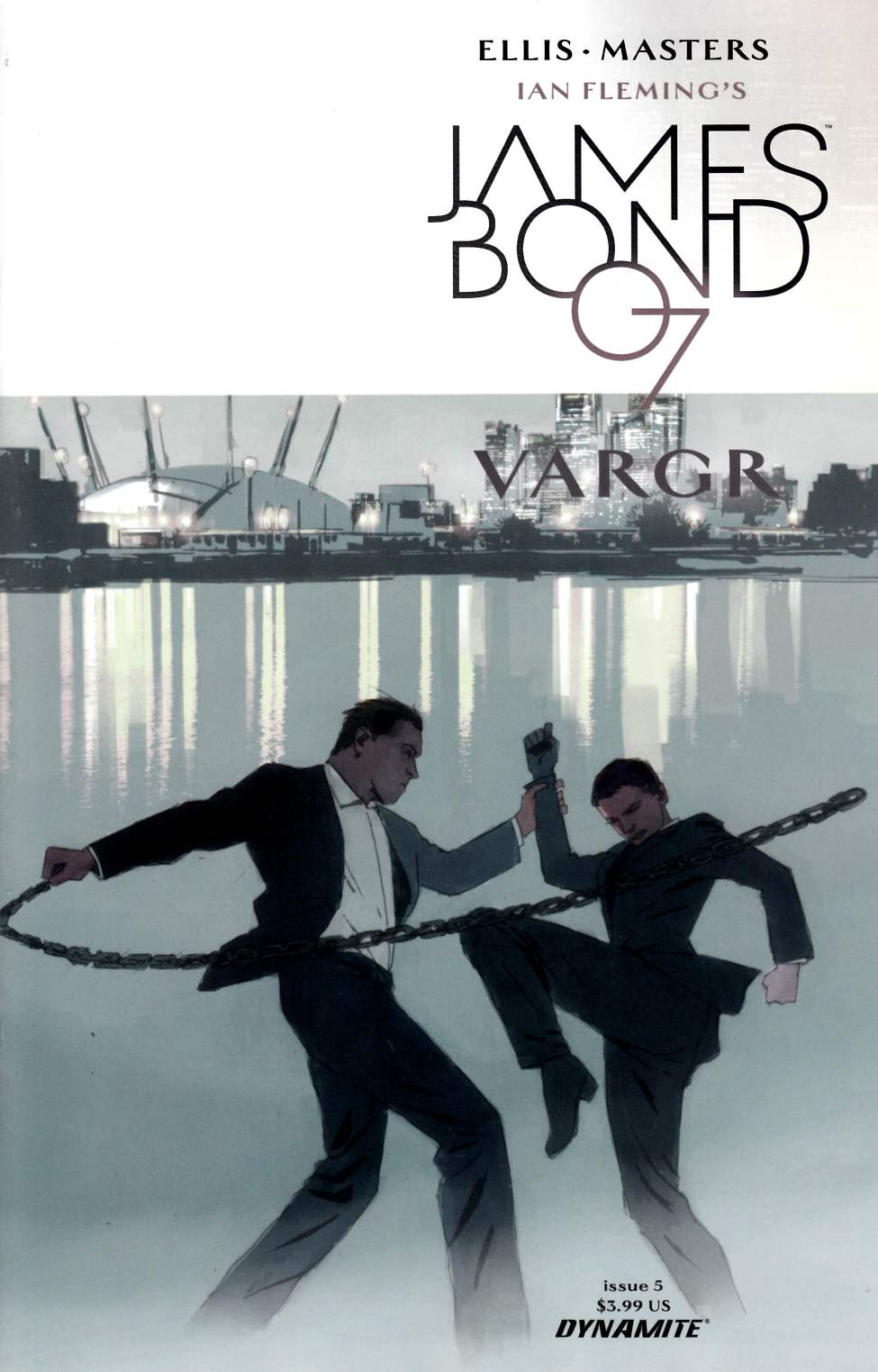 James Bond #5 [Dynamite Comic] THUMBNAIL
