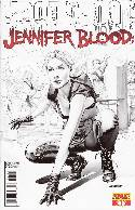 Jennifer Blood First Blood #1 Mayhew B&W Incentive Cover [Comic] THUMBNAIL
