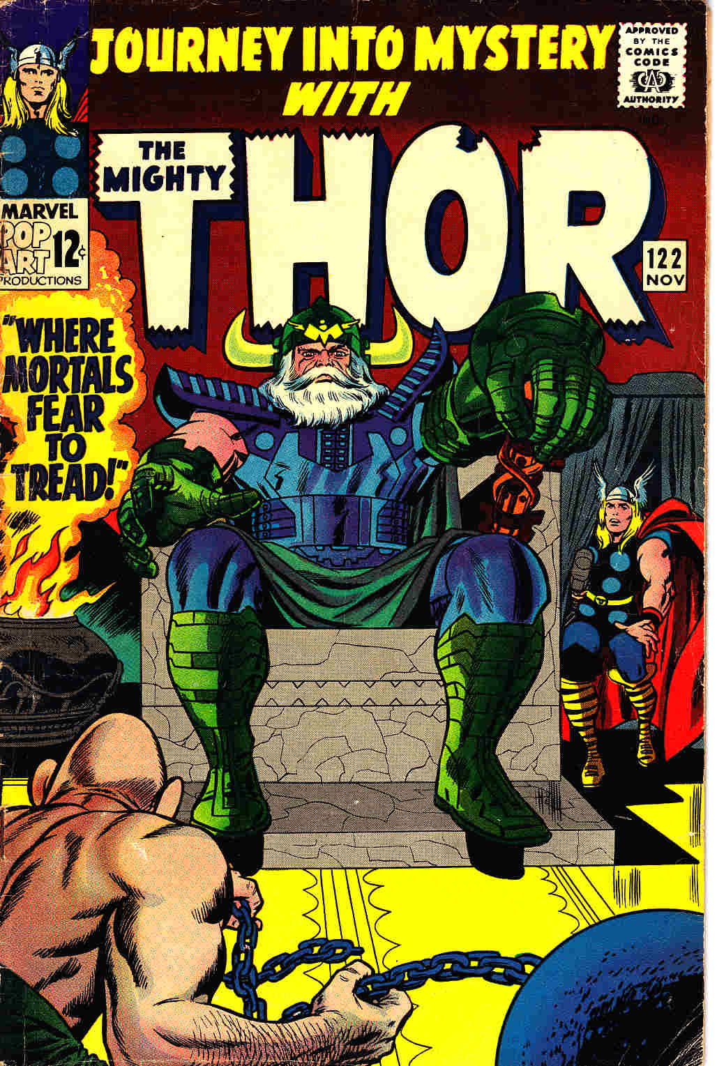 Journey Into Mystery Thor #122 Very Good Plus (4.5) [Marvel Comic] THUMBNAIL