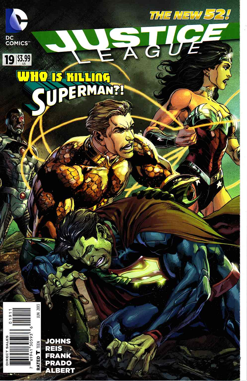 Justice League #19 [DC Comic] LARGE