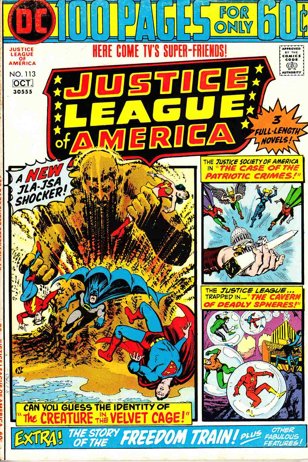 Justice League Of America #113 Fine (6.0) [DC Comic]