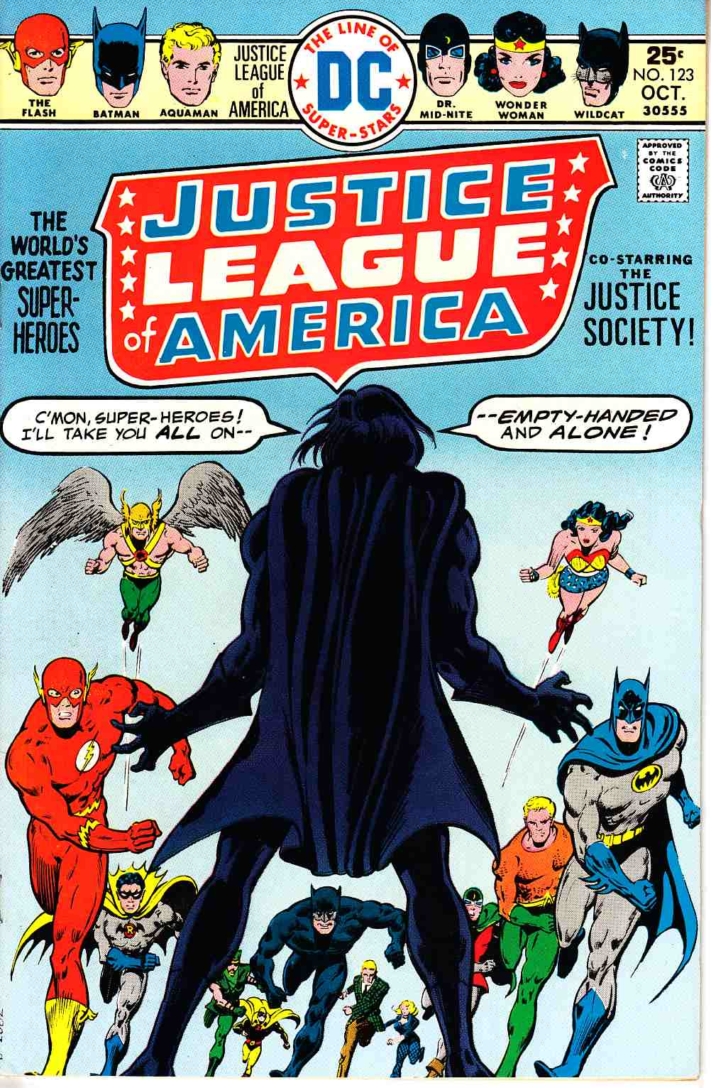 Justice League Of America #123 Very Fine (8.0) [DC Comic]