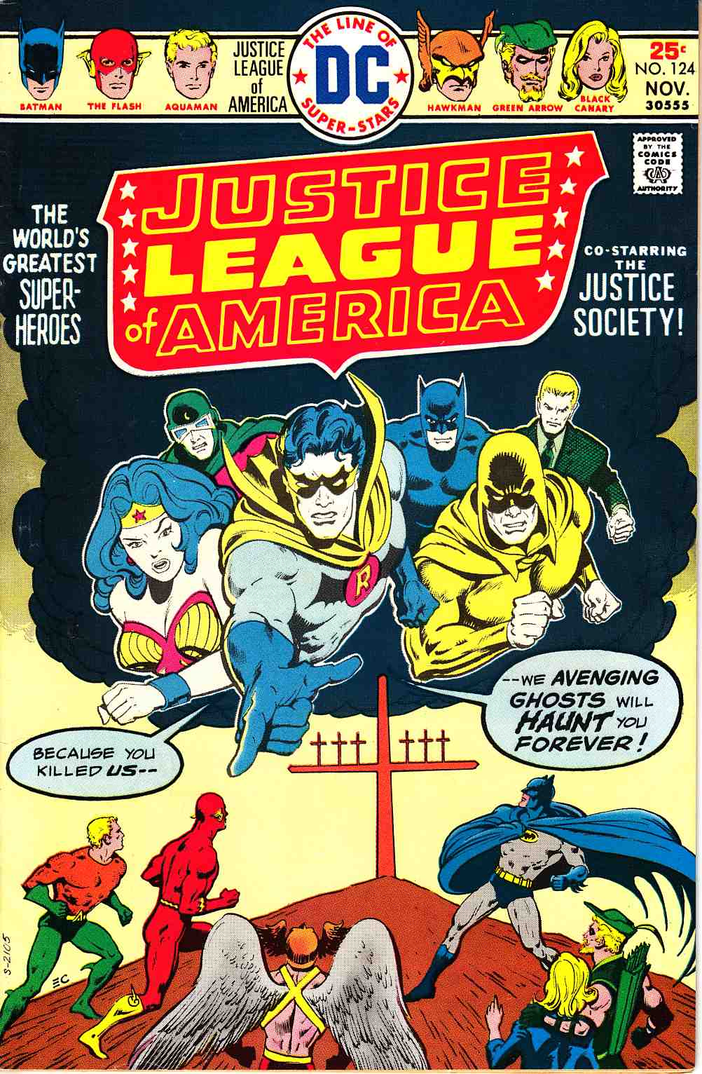 Justice League Of America #124 Fine Plus (6.5) [DC Comic]