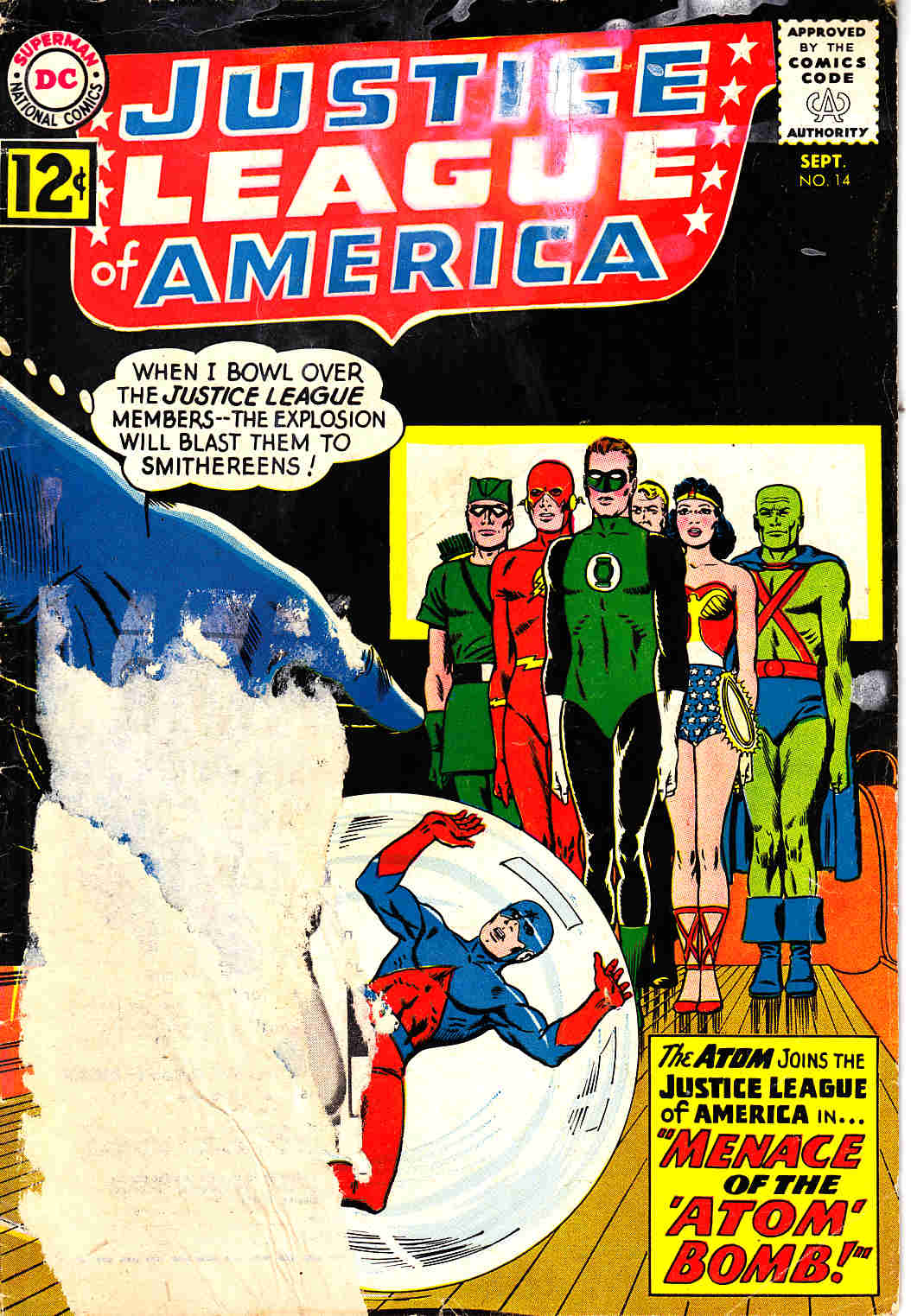 Justice League Of America #14 Fair (1.0) [DC Comic]_THUMBNAIL