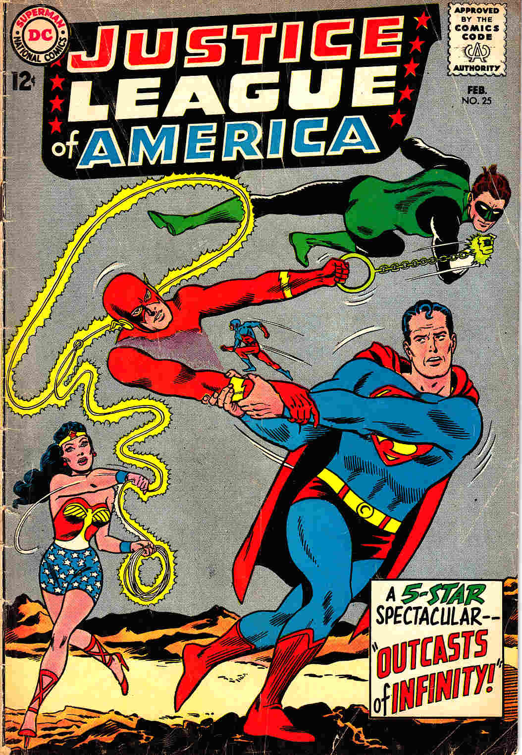 Justice League Of America #25 Very Good (4.0) [DC Comic] LARGE