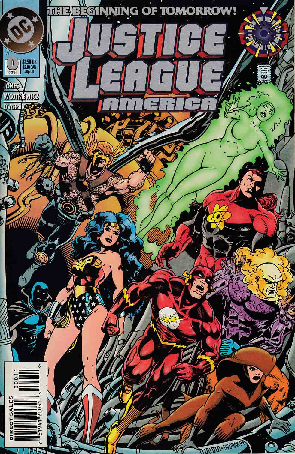 Justice League America #0 Very Fine Minus (7.5) [DC Comic] LARGE