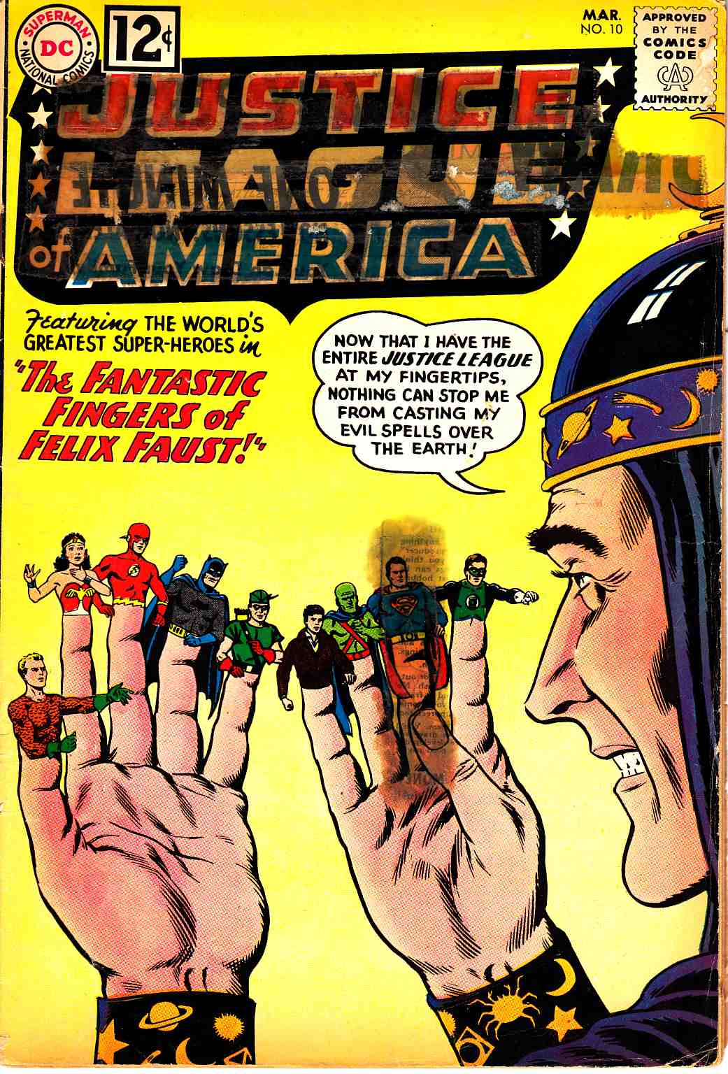 Justice League Of America #10 Fair/Good (1.5) [DC Comic]_THUMBNAIL