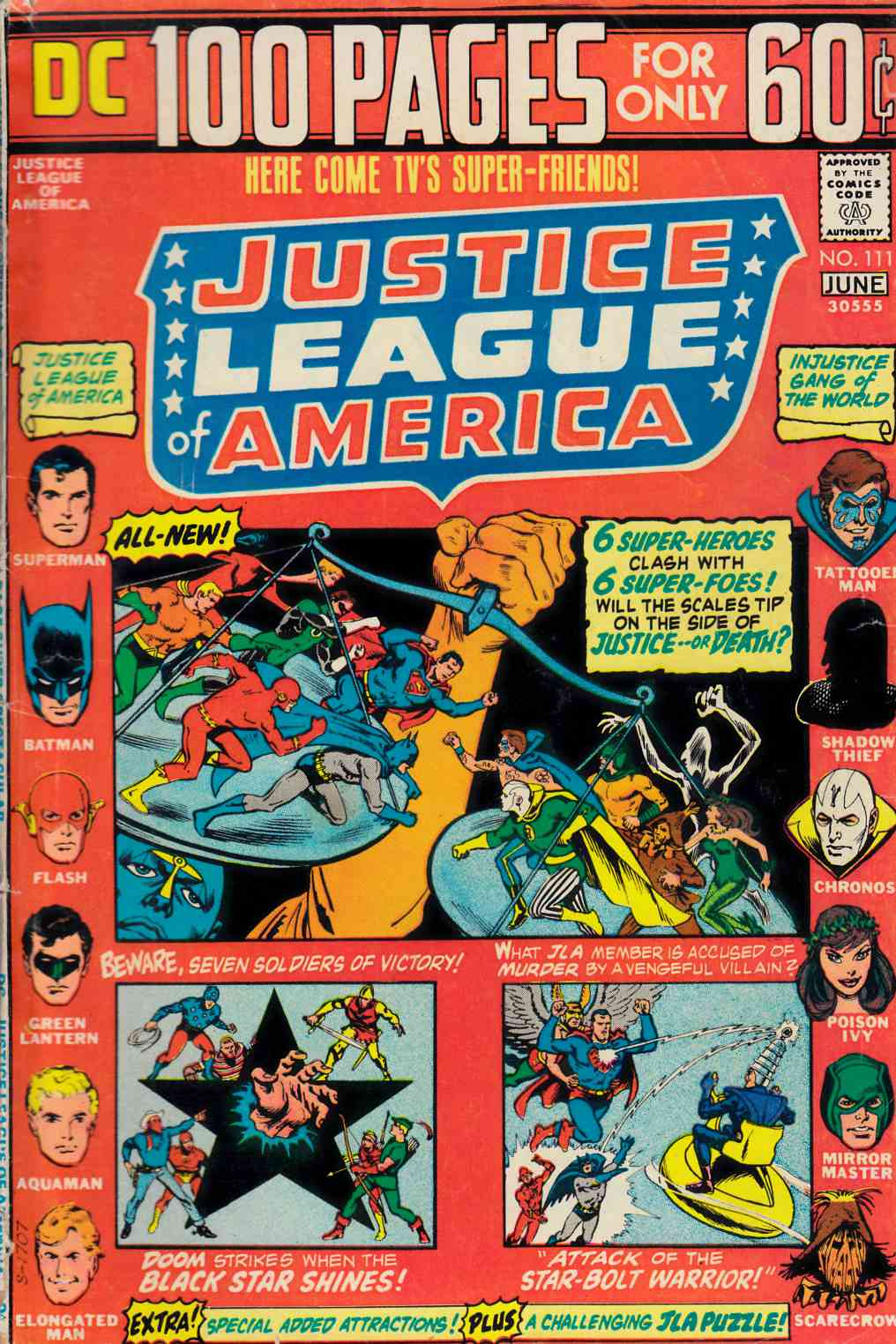 Justice League Of America #111 Very Good (4.0) [DC Comic] LARGE