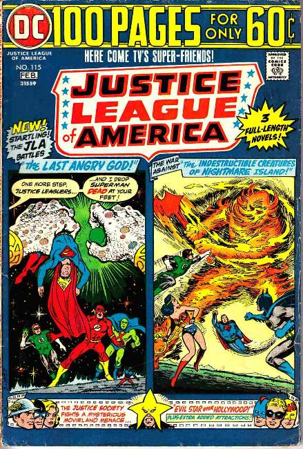 Justice League Of America #115 Fine Minus (5.5) [DC Comic] LARGE