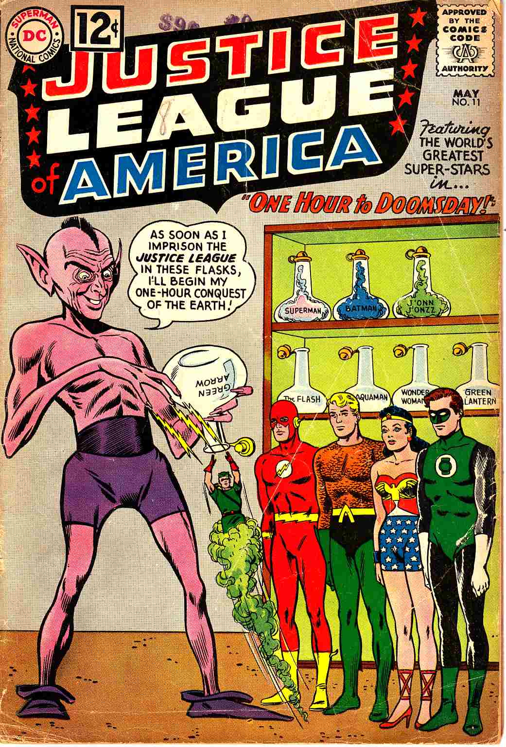 Justice League Of America #11 Good/Very Good (3.0) [DC Comic]_THUMBNAIL