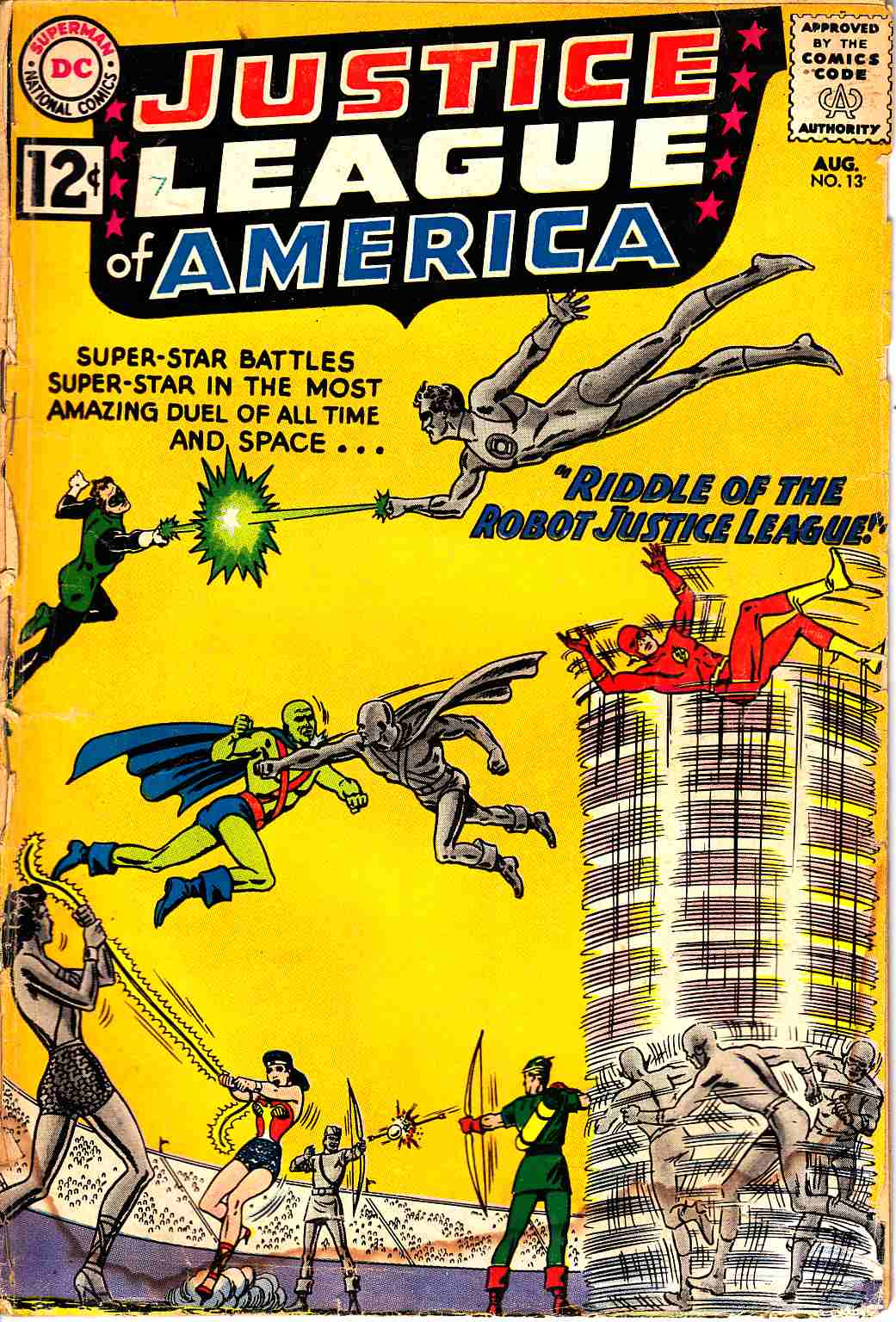 Justice League Of America #13 Poor (0.5) [DC Comic]_THUMBNAIL