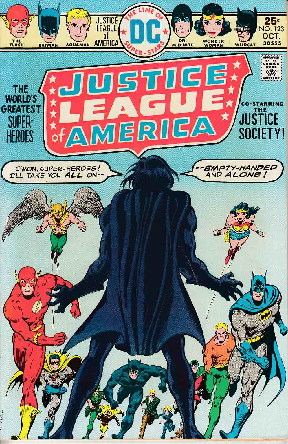 Justice League of America #123 Very Fine Minus (7.5) [DC Comic] LARGE