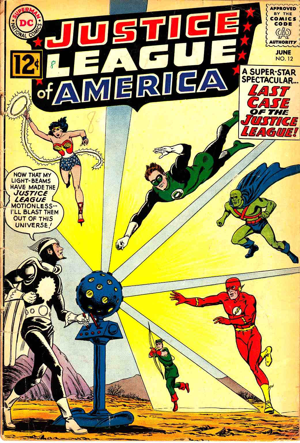 Justice League Of America #12 Good (2.0) [DC Comic]_THUMBNAIL