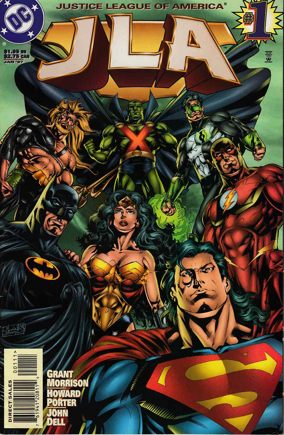 JLA #1 Fine (6.0) [DC Comic] LARGE