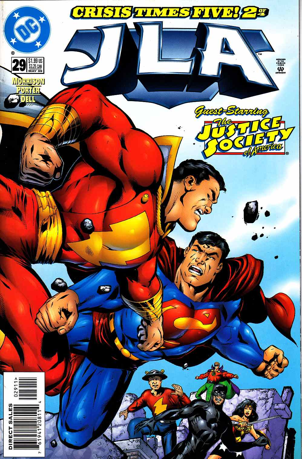 JLA #29 Very Fine (8.0) [DC Comic] LARGE
