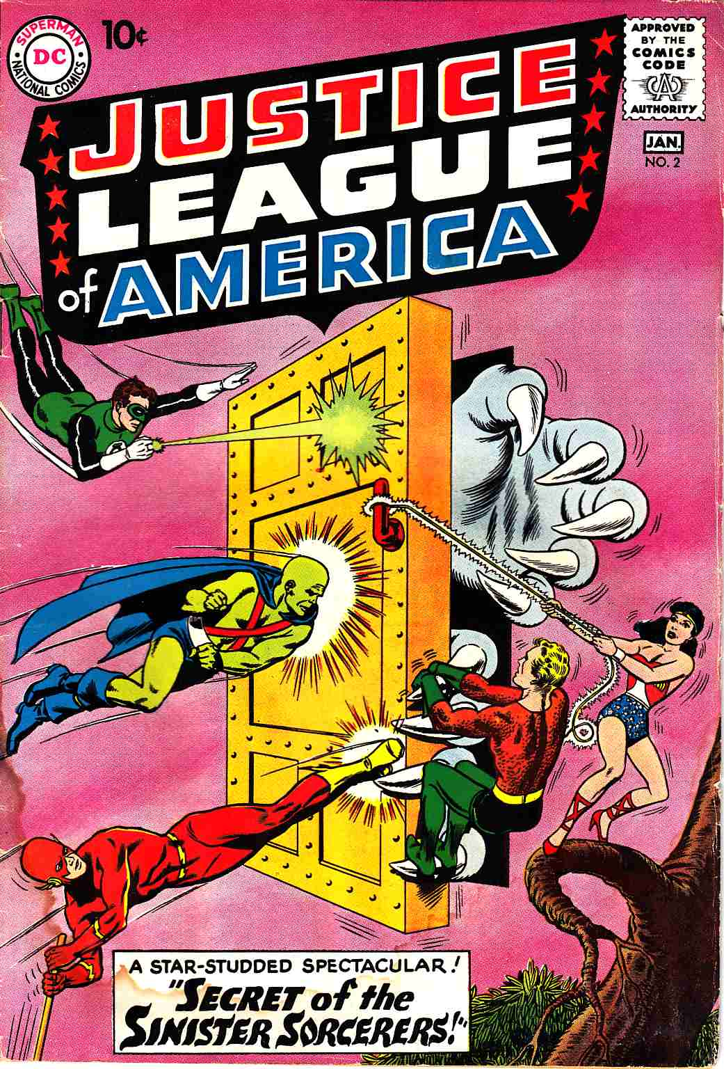 Justice League Of America #2 Fair/Good (1.5) [DC Comic]_THUMBNAIL