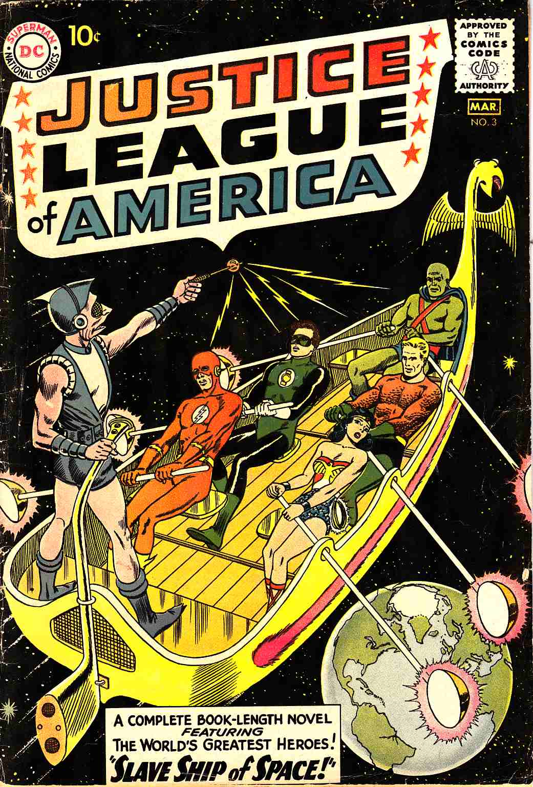 Justice League Of America #3 Good/Very Good (3.0) [DC Comic]_THUMBNAIL