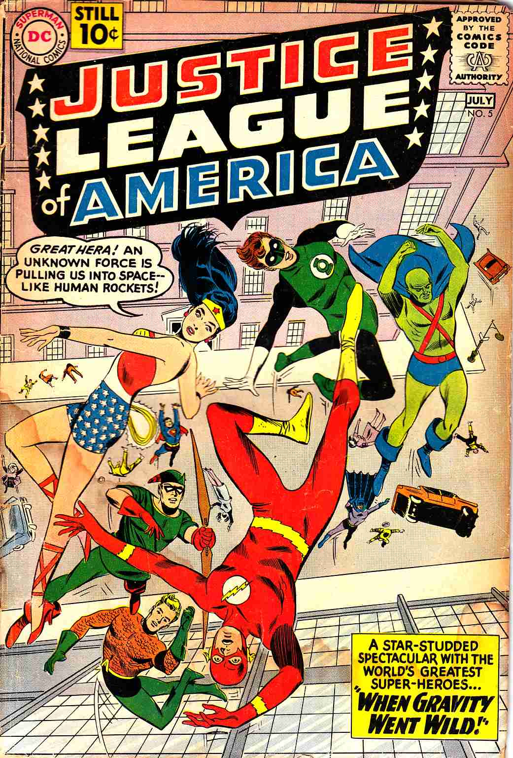 Justice League Of America #5 Good Minus (1.8) [DC Comic]_THUMBNAIL