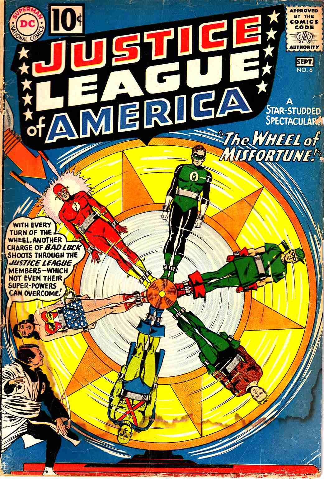 Justice League Of America #6 Fair (1.0) [DC Comic]_THUMBNAIL
