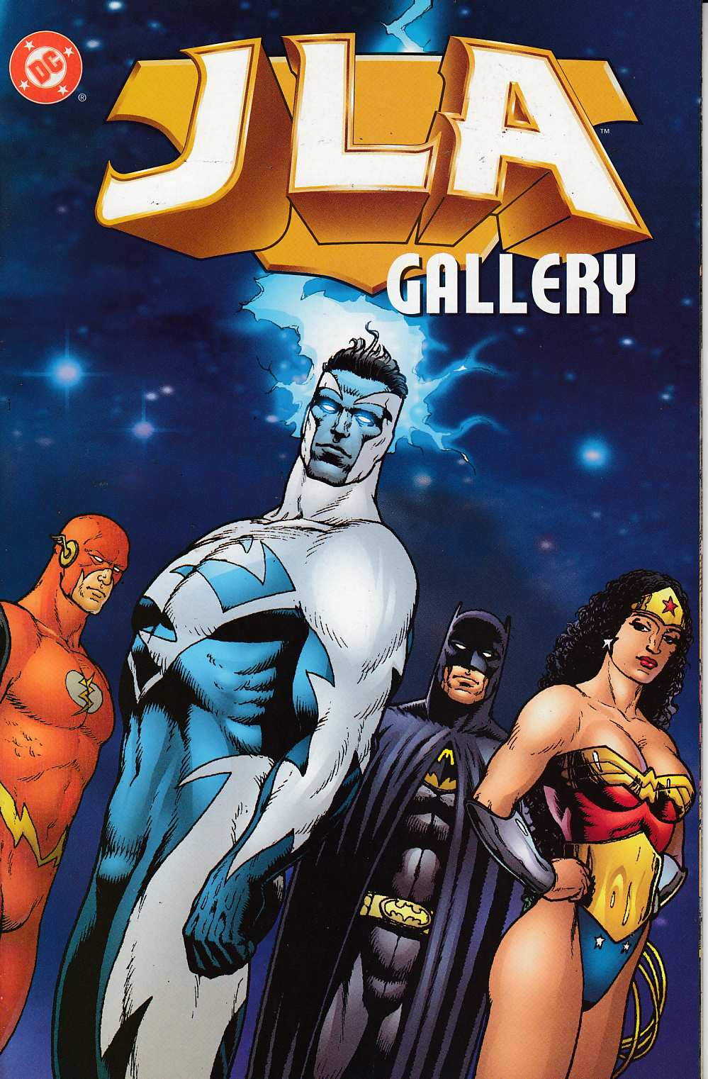 JLA Gallery #1 Near Mint (9.4) [DC Comic] THUMBNAIL