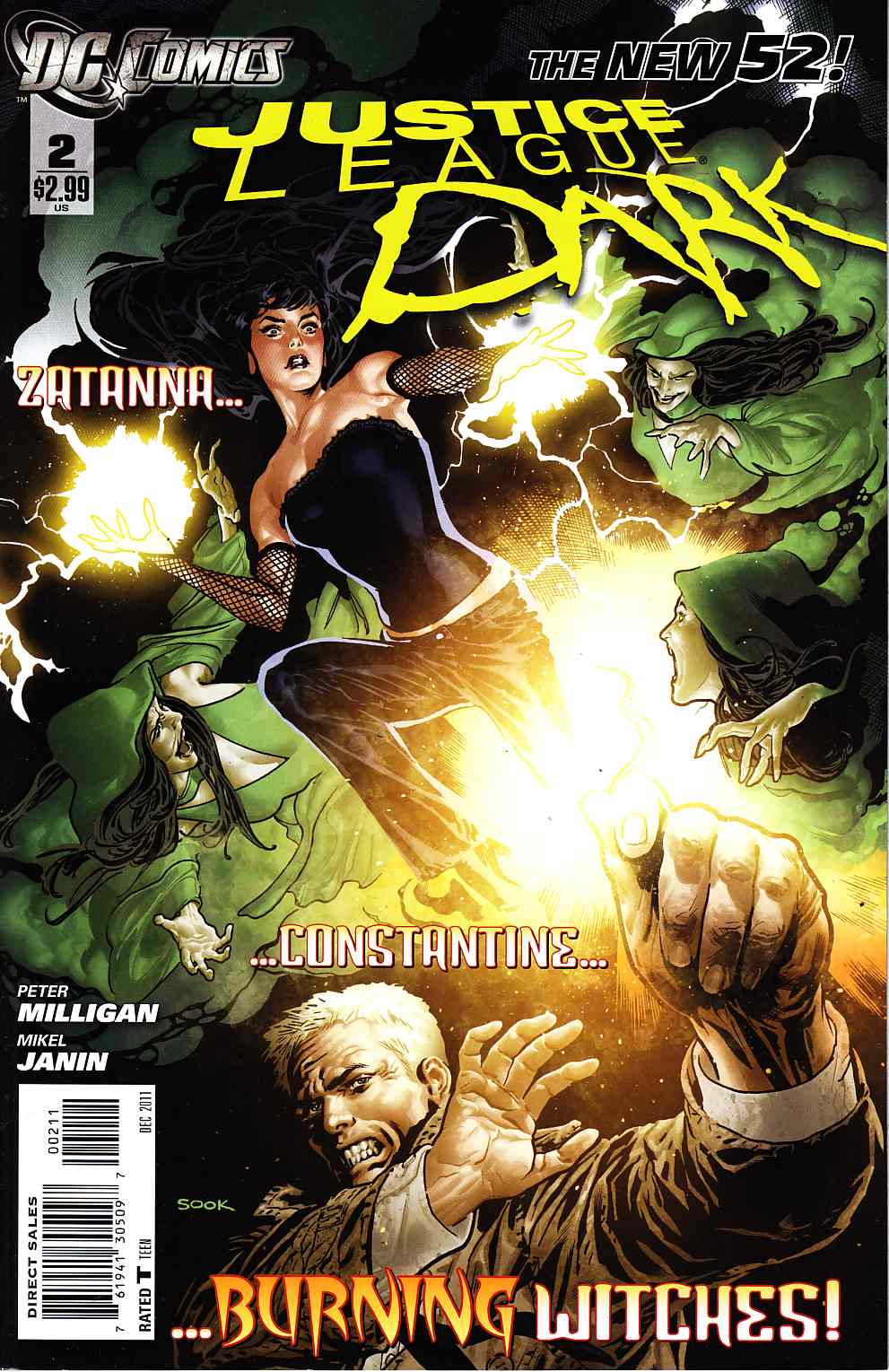 Justice League Dark #2 [DC Comic] THUMBNAIL