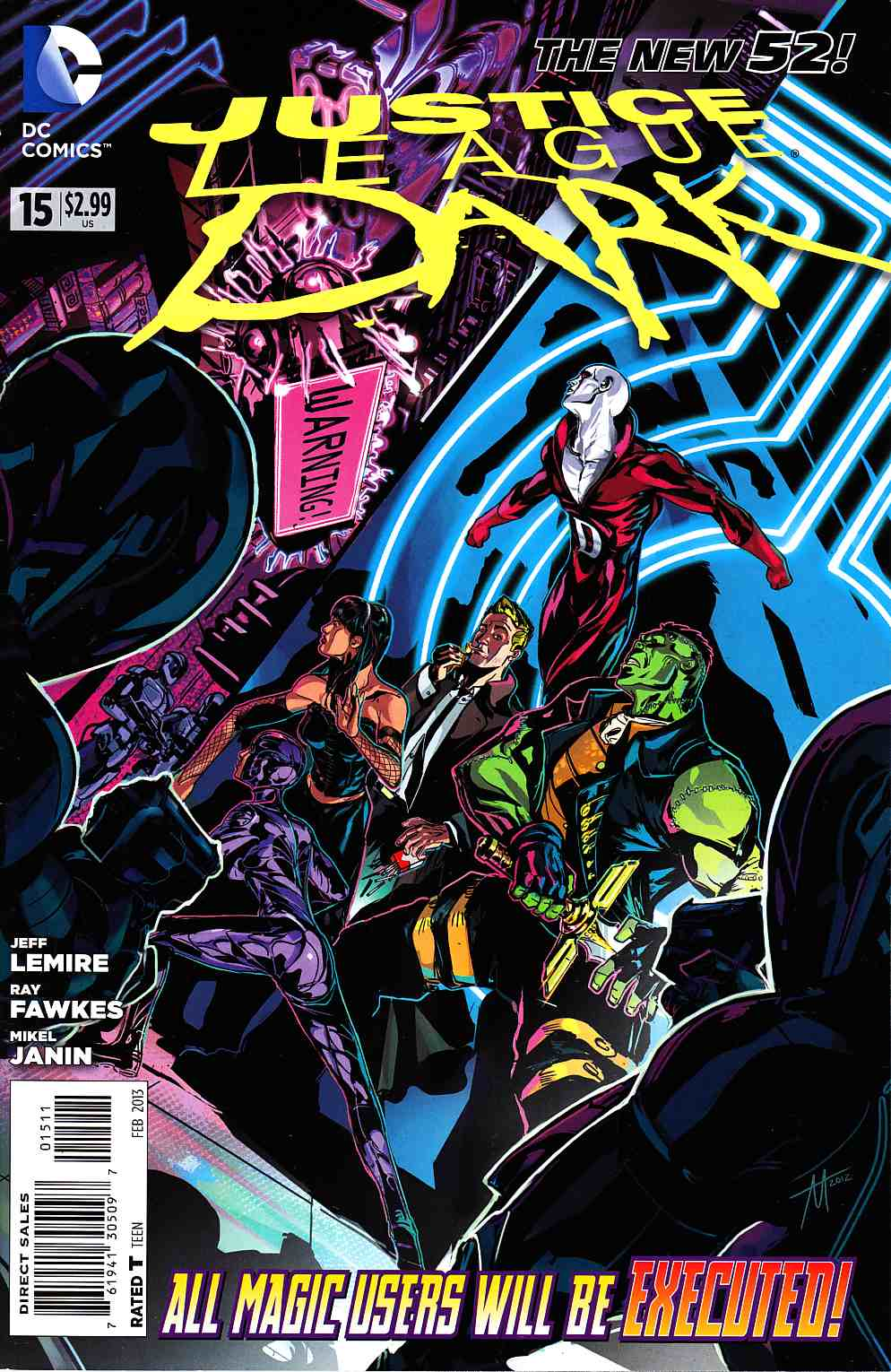 Justice League Dark #15 [DC Comic] THUMBNAIL