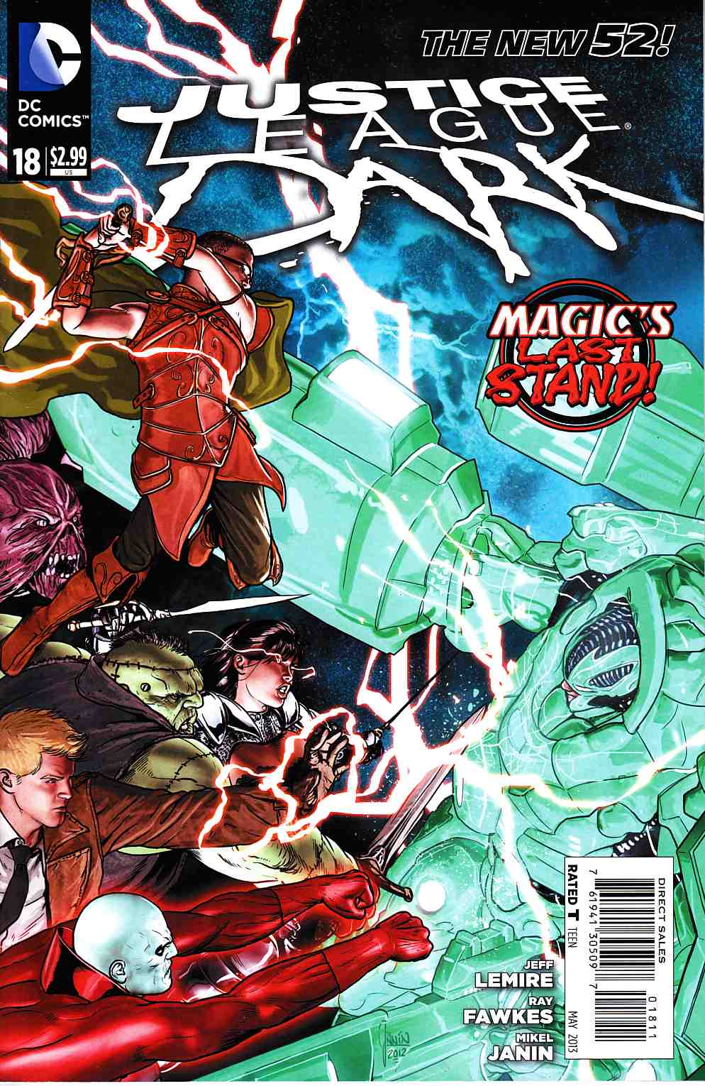 Justice League Dark #18 [DC Comic] THUMBNAIL