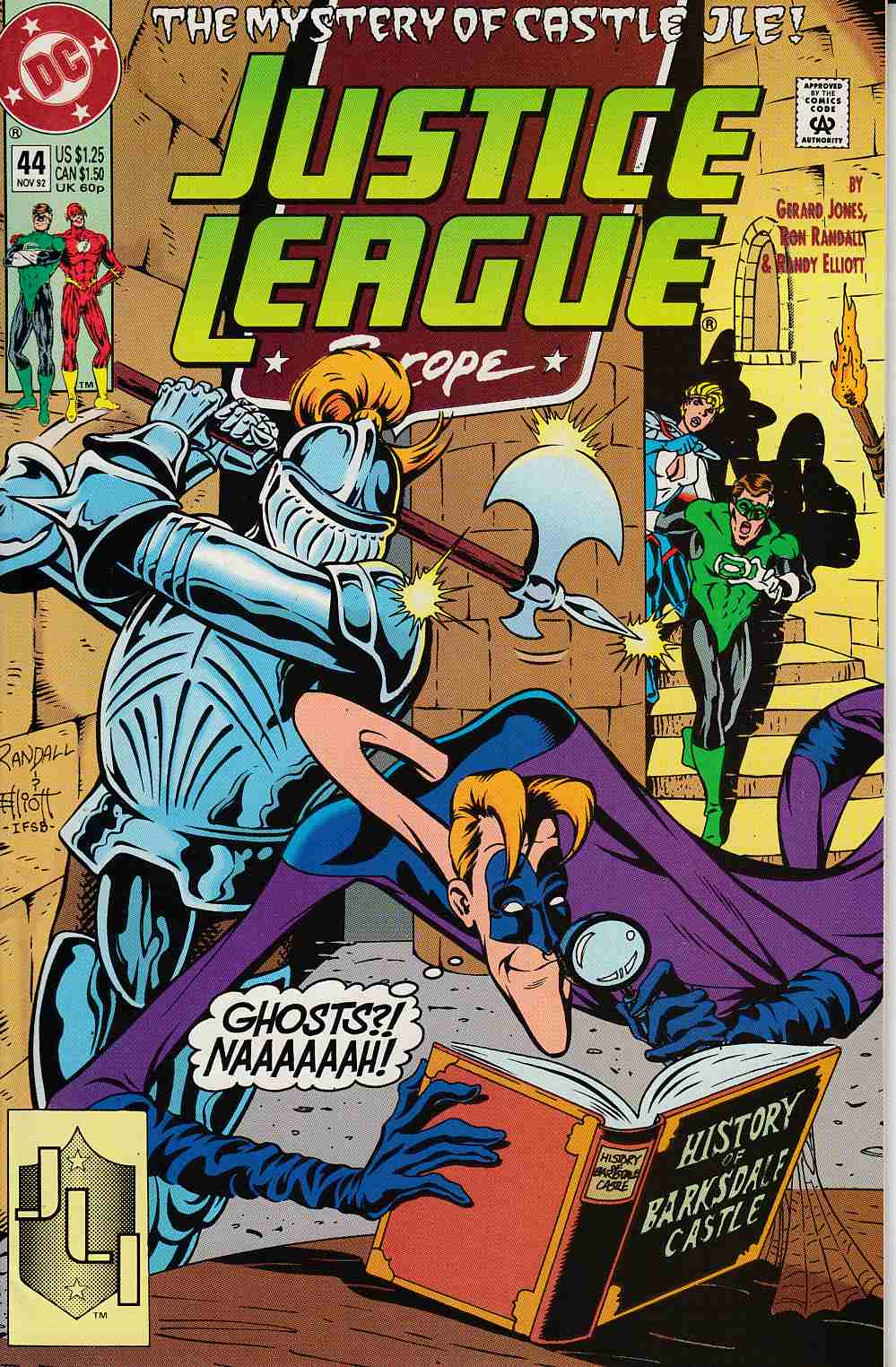 Justice League Europe #44 Very Fine (8.0) [DC Comic] LARGE
