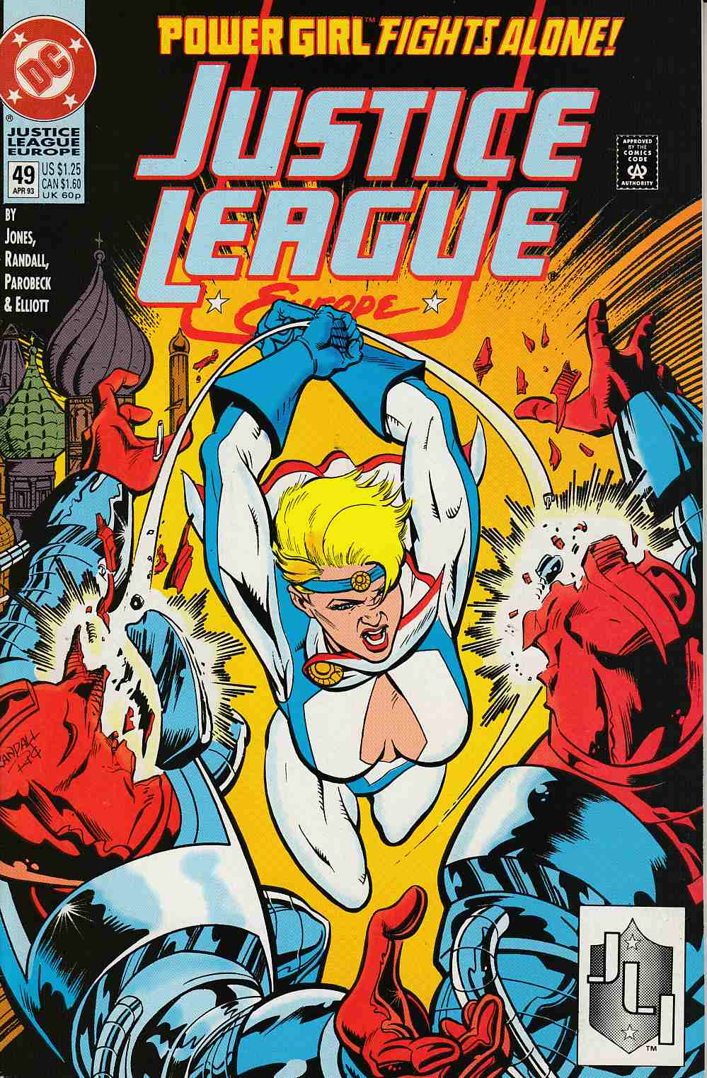 Justice League Europe #49 Near MInt (9.4) [DC Comic] LARGE